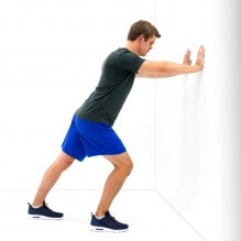 stretching, gastrocnemius, calf muscles, exercise